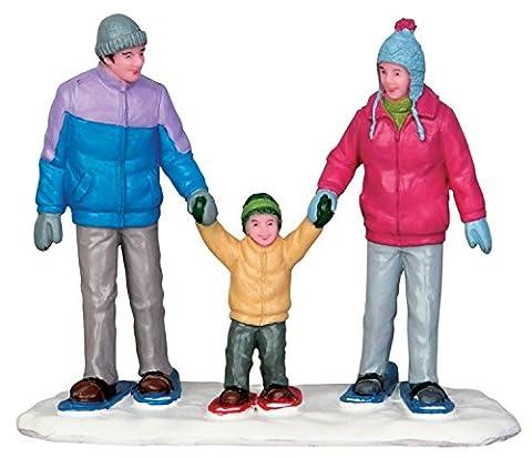 Lemax Vail Village randonnées Family Figurine de