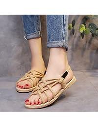 De es Zapatos Cañamo Para 38 Sandalias Mujer Amazon HEqwndUU
