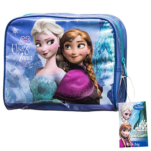 Anna Elsa & Disney Frozen-Borsa trousse da viaggio
