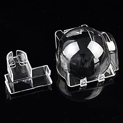KEESIN Gimbal Cover Cap Camera Guard Protector and Lens Filter Clamp Lock Clip Holder Drone Accessory for DJI Mavic Pro Transparent