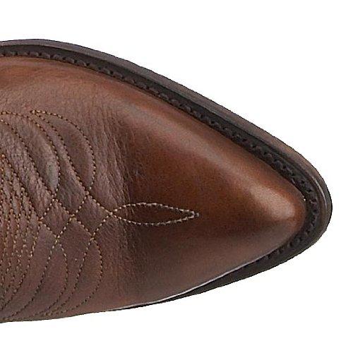 Frye Billy Pull On, Boots femme Dark Brown Vintage Calf Shine-77689