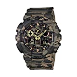Casio G-Shock Analog-Digital Green Dial Men's Watch - GA-100CM-5ADR (G580)