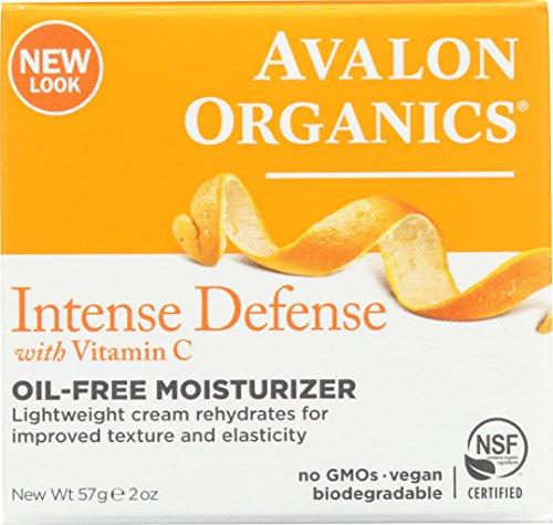 Avalon Organics activo rejuvenecedor Hidratante   fórmula sin aceite   Enriquecido con Vitamina C   60 ml