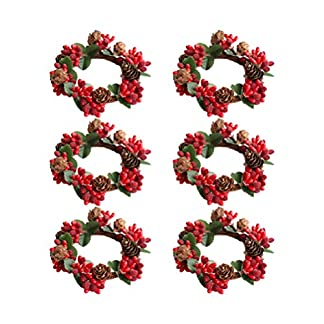 Amosfun-6-stcke-weihnachtskerzenringe-rote-beere-kerzenringe-krnze-mit-tannenzapfen-fr-sulen-weihnachten-tischdekoration-mittelstcke-rot-und-grn