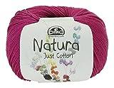 DMC Natura Yarn, 100 Percent Cotton, Cerise N62