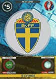 Panini Adrenalyn XL UEFA Euro 2016Sverige Team Logo Karte