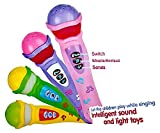 #1: Musical Microphone Singing Mic Toy with Lights and Clear Sound