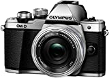Olympus OM-D E-M10 Mark II Compact System Camera - 14-42 EZ Lens + 40-150 mm R, Silver