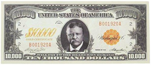Set of 100 - $10,000.00 Ten Thousand Dollar Gold Certificate Novelty Bill by American Art Classics