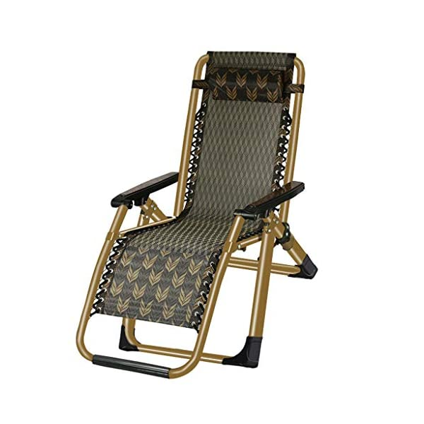 MRZZ Recliner Folding Lunch Break, Balcony Backrest Siesta Chair Leisure Home Portable Chair Old Man Beach Office Wicker Chair. (Color : Green)  Environmentally friendly and breathable fabric, cool and waterproof. Portable design, ready to use, small size does not occupy the ground, you can bring it in the trunk of the car! High-elastic latex rope, full of elastic feel, rope can be removed and replaced, durable. 1