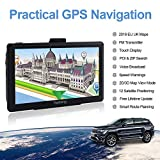YoJetSing Sat Nav GPS Navigation System, 7 inch 8GB 256MB Car Truck Lorry Capacitive Touch Screen Satellite Navigator Device Pre-loaded UK/EU 2018 Newest Maps with Lifetime Free Updates