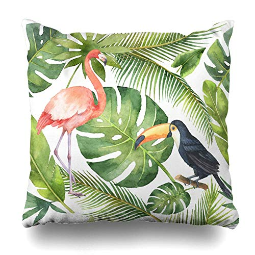 Klotr Decorative Fundas Para Almohada Jungle Green
