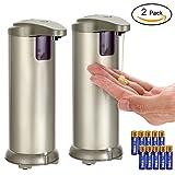 LYPULIGHT Automatischer Seifenspender Edelstahl Berührungsloser Handfreier IR Infrarot (2 Satz)
