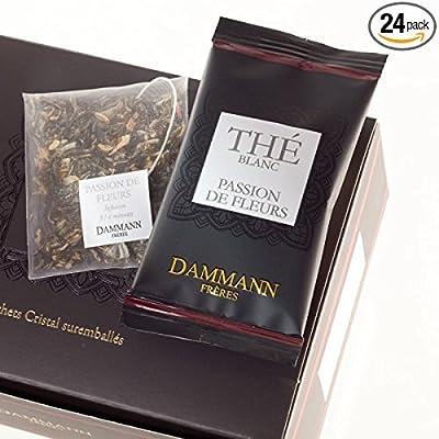 Passion de Fleurs - Thé blanc parfumé 24 sachets individuels - Dammann Frères