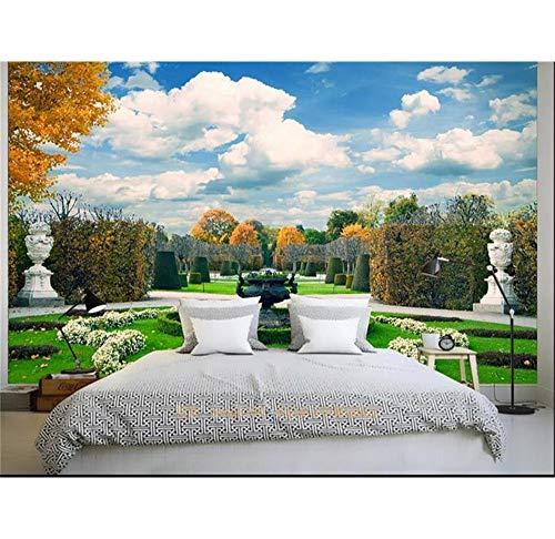 Rureng personalizzato 3d foto carta da parati biancheria da letto camera murale manor bellissimo scenario immagine divano tv sfondo non tessuto carta da parati per parete 3d-450x300cm