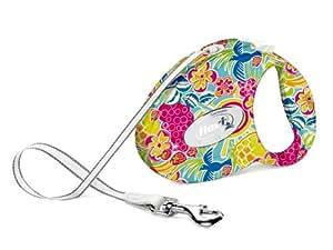 """Nobby - Flexi Fashion / 75203 - Laisse - Motif """"Tropiques"""" - Taille S / 3 m"""