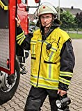 Feuerwehr Kennzeichnungsweste - GELB - Warnweste - HupF MIH Medical