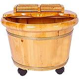 Haushalt Fußbad Pediküre Schüssel Holzfuß Badewanne Fußbad Barrel Fußbad Barrel Fußmassage Becken Fuß Badewanne