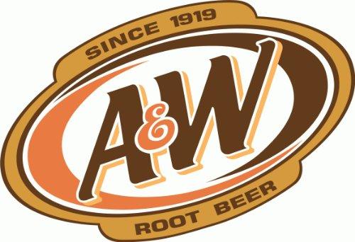 A&W Root Beer Drink Hochwertigen Auto-Autoaufkleber 12 x 10 cm
