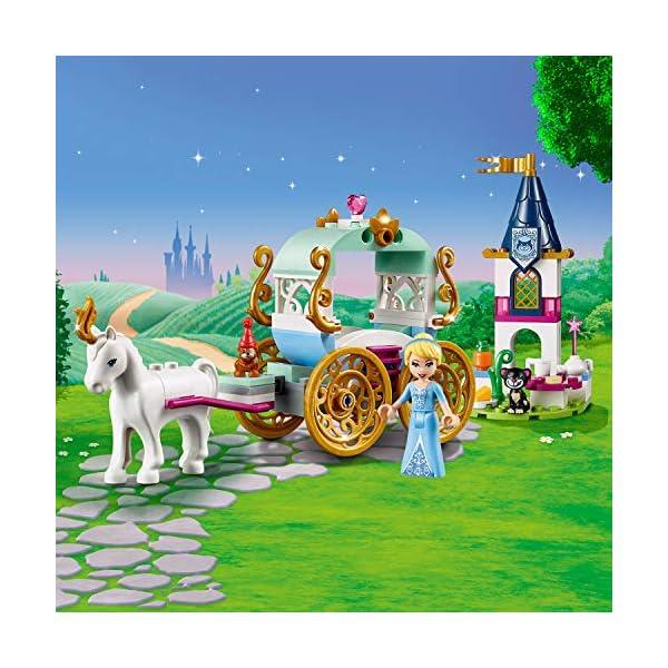 LEGO Disney Princess - Il giro in carrozza di Cenerentola, 41159 2 spesavip