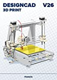 FRANZIS DesignCAD 3D Print V26|V26|3D-Druck für 2D-/3D-CAD|Professionelle CAD-Software|Für Windows PC|Disc|Disc