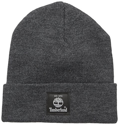 Timberland Men's Made in the USA Watchcap, Charcoal Heather, One Size
