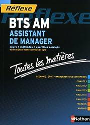 Toutes les matières Réflexe : Assistant de manager - BTS