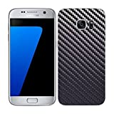 7 Layer Skinz Custom Skin Wrap for Samsung Galaxy S7 Edge (Gunmetal Carbon Fiber)