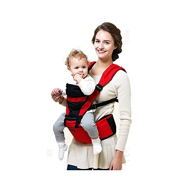 Pognae Smart Hipseat 3-in-1 Carrier (Red) Pognae 3 in 1 hipseat carrier hipseat cross type hipseat 2