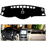 Piaobaige Car Dashboard Cover Mat For Lexus Lx570 2007 2014 Left Hand Drive Dashmat Pad Dash Covers Auto Dashboard Accessorie