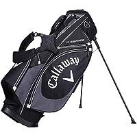 Calaway X Series Bolsa Trípode de Golf, Unisex Adulto, Negro/Gris/Blanco, Talla Única