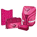 Herlitz 11407913 Grundschulrucksack Motion Plus Butterfly Power