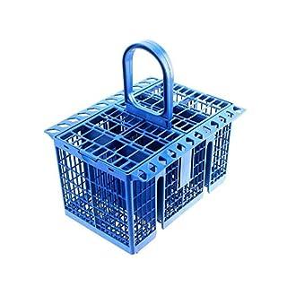 Lazer Electrics Cutlery Basket Cage Rack for Indesit, Ariston & Hotpoint Dishwashers (Blue)