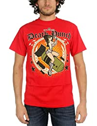 Five Finger Death Punch - - Les hommes Girl Bomber's T-shirt In Red