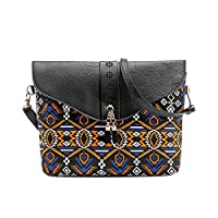 OYSOHE Clearance Fashion Women Flower Print Handbags Bag Sweet Pattern Shoulder Messenger Bag