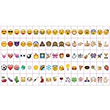A4 Cinematic Lightbox 205 Emoji/Letters & Free USB Cable M&W Emojis Only (85pc) [UK-Import]