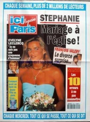 AFFICHE DE PRESSE [No 2481] du 20/01/1993 - STEPHANIE DE MONACO - EVELYNE LECLERCQ - FRANCOIS VALERY - BEAUTE.