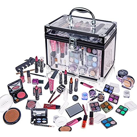 Shany Carry All Trunk Makeup Case Cosmetic Gift Set