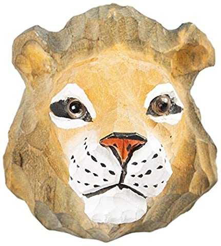 Sass & Belle Wooden Lion Drawer Knob