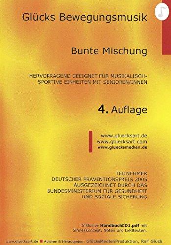 Bewegungsmusik für Senioren CD Bunte Mischung