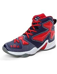 LOVDRAM Botas De Hombre Zapatos De Baloncesto De Invierno Para Hombre, Transpirable, Mayor Desgaste