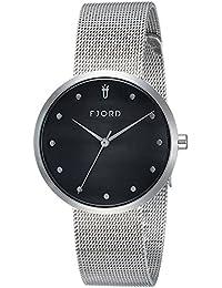 Fjord Analog Black Dial Women's Watch- FJ-6035-11