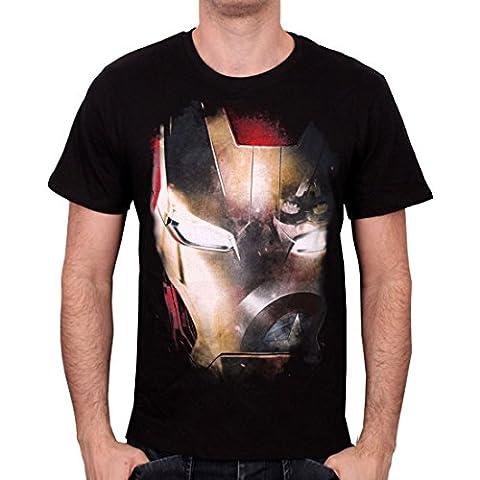 Iron Man Captain America Civil War - Reflection T-Shirt schwarz M