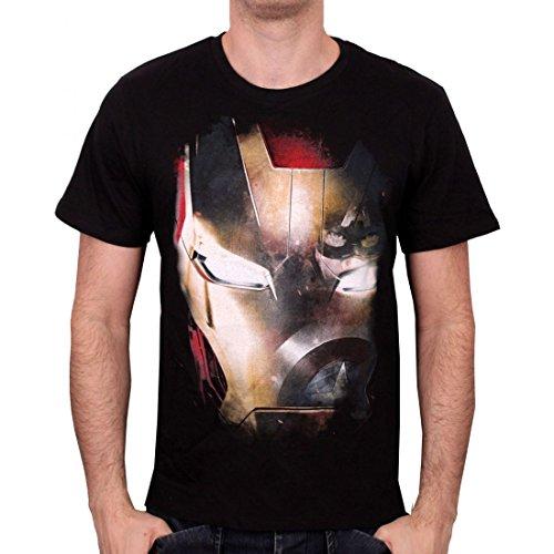 Iron Man Captain America Civil War - Reflection T-Shirt schwarz (Anzug Man Iron Schwarz)