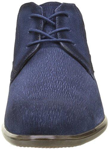 bugatti Herren 311186021400 Kurzschaft Stiefel Blau (d.Blau 4100)