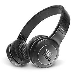 JBL Duet BT Haarband Binaural, Kontaktbelegung/Bluetooth schwarz-Headsets und Tonabnehmer (Binaural, Haarband, Schwarz, verkabelt/Bluetooth, Universal, Bluetooth/3,5mm)