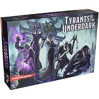 Dungeons & Dragons Jeu de société Tyrants of the Underdark - Les Tyrans de l'Outreterre