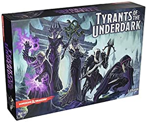 Gale Force Nine GF974001 - Brettspiel Dungeons und Dragons: Tyrants of the Underdark Boardgame