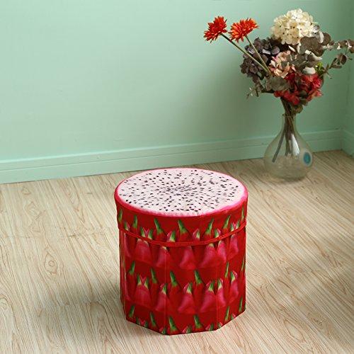 Preisvergleich Produktbild Hocker Der Hocker, Aufbewahrungsbox, Obst Klapphocker, diverse Kleinartikel Hocker, Lagerung, Schuhe ändern Hocker, kleinen Stuhl, großes Format, Trompete Pitaya