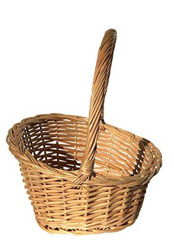Geschenkkorb, Weidenkorb, Präsentkorb, gross, 45x33x38 cm